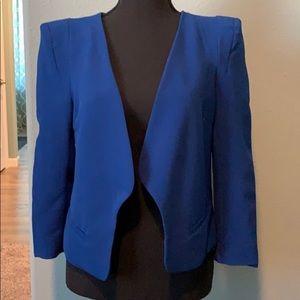 Royal blue blazer by forever 21